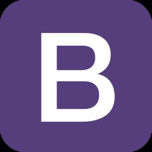 Logo de bootstrap