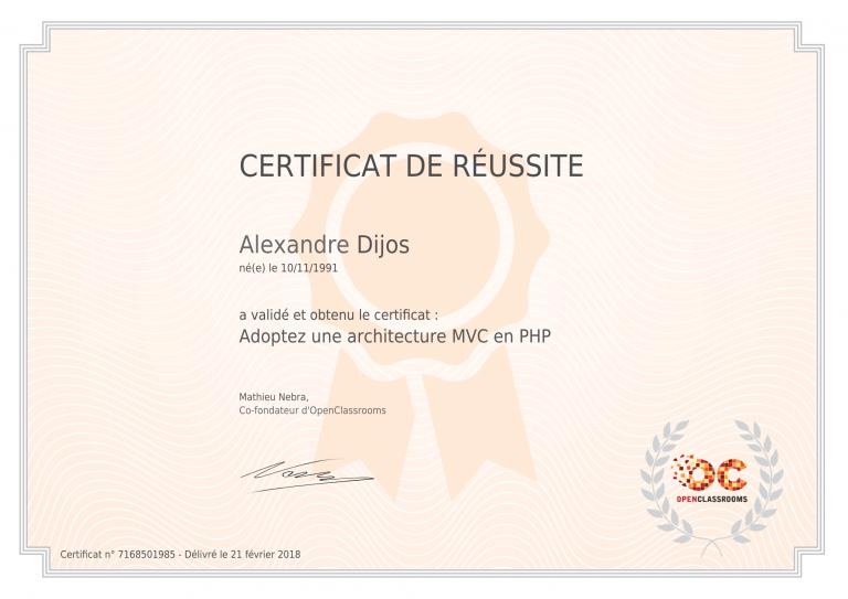 certificat_alexandre-dijos_adoptez-une-architecture-mvc-en-php-1