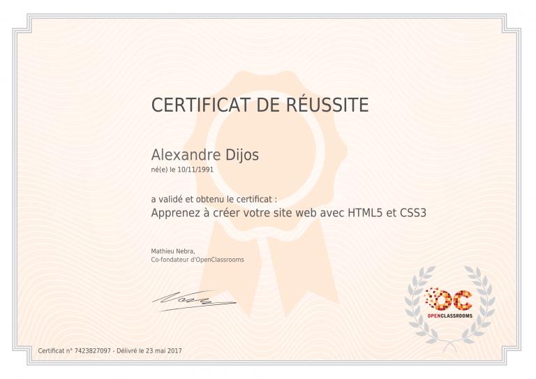 certificat_alexandre-dijos_apprenez-a-creer-votre-site-web-avec-html5-et-css3-1