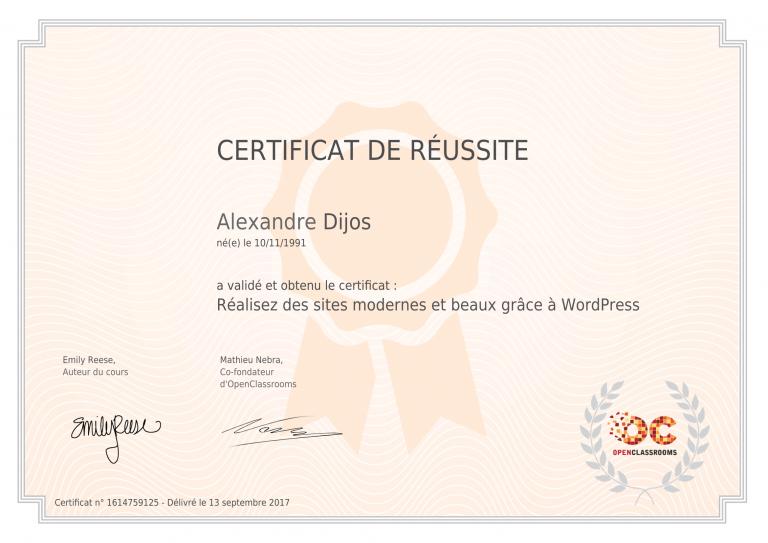 certificat_alexandre-dijos_realisez-des-sites-modernes-et-beaux-grace-a-wordpress-1