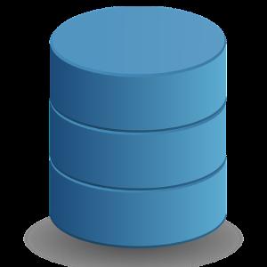 Logo de base de données faisant référence à SQL